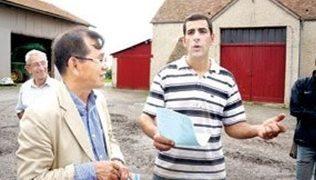 """프랑스의 청년 농부 로뱅씨, """"농업에서 경영마인드가 중요"""""""